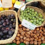 秋の果物 Marché biologique Raspail